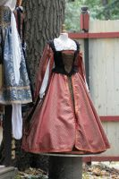 Renaissance Costume 11 by sd-stock