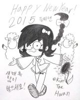 Stella,She's a Spygirl : Happy New Year in 2015! by komi114