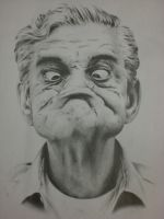 Old Man Portrait by MSVickery