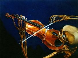 Vanitas with Violin by hank1