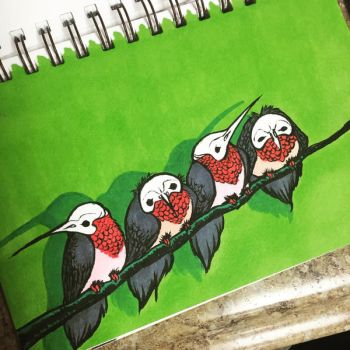 Skull Hummers by justjingles