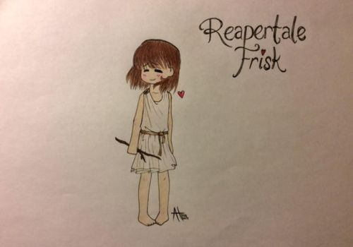 Reapertale Frisk by pandahandsome