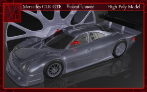 Mercedes CLK GTR Model by DeaconStone