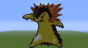157 - Typhlosion by FacadeOfLife