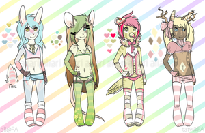 collab adoptables ALL SOLD by alpacasovereign