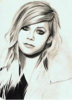Avril Lavigne W.I.P by Art-SKF