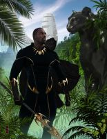 The BLACK PANTHER by Katase6626