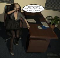 Penelope - Working Late 3 by Torqual3D