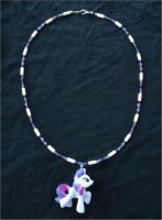 MLP Rarity Necklace by RebelATS