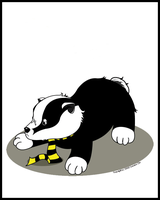 Hufflepuff Badger by Reighvan