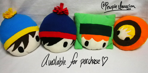 .:South Park Inspired Plushies:. by PewpieInvasion