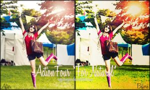 Action Four - For Natural by vyqieenyaa