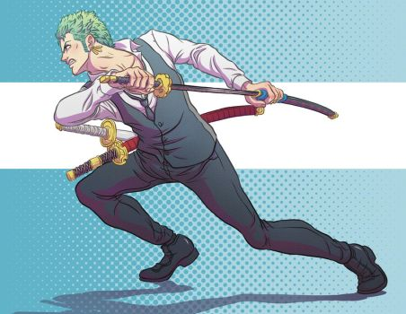 Zoro - Strong World by Oriana132