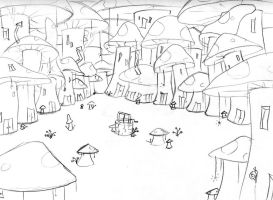 Shroomville by Malici0us