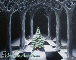 Christmas Cathedral by MadameAradia
