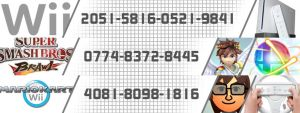 Wii Friend Code Signature by WordLife316