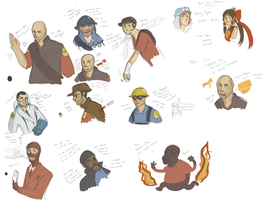 TF2 -- angryfaces UPDATED MOAR by static-mcawesome
