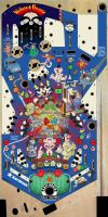 Wallace And Gromit Pinball Art by EalaDubh
