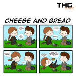 THG COMIC - Cheese and Bread (1) by BertMel