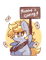 Monday is coming! by ILifeloser