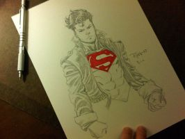 BCC 2010 Superboy sketch by RyanOttley