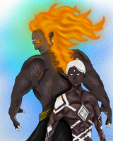 Demise and Ghirahim-A Dark Legend by FlameFatalis