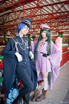 Kaito and Miku - Senbonzakura by Vivid-Cosplay