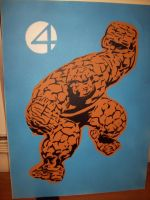The Thing by Stencils-by-Chase