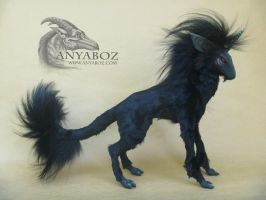 Dark Unicorn Room Guardian by AnyaBoz