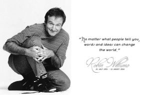 Robin Williams by LittleBadGirl-Missy