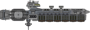 Cleveland Class USS Cleveland SCGN-3000 by Kelso323