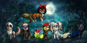 Happy Halloween! by LiaBorderCollie
