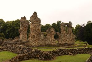 Bury St Edmunds Abbey ruins by PhilsPictures
