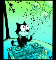 Felix the Cat on the Mix by funi