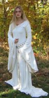 Eowyn White Wool Gown 4 by ThreeRingCinema