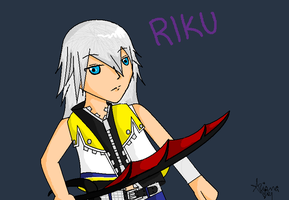 Riku by Im-not-short-grl