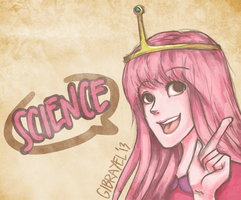 Peebles says SCIENCE! by Gibrayel