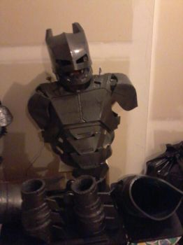 update on Batman Mech Suit.... 1st coat of paint by jronk13