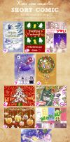 Short comic Xmas Cards - My design 2012 by Alzheimer13