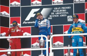 1995 Argentine Grand Prix Podium by F1-history