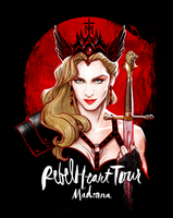 Madonna's REBEL HEART TOUR by David Kawena by davidkawena