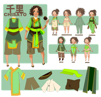 LoK OC: Chisato by Haruyou