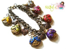 Colorful Ladybugs by colourful-blossom