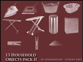 Household Objects Pack 2 by hernerzecke
