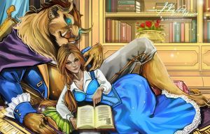 Beauty and The Beast by Hassly