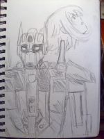 Animus cover sketch? by WindyRen