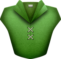 OOT Kokiri Tunic by BLUEamnesiac