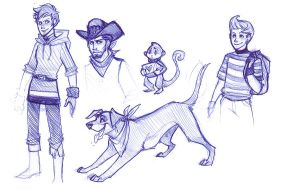 MOTHER 3 Sketches by rollingrabbit