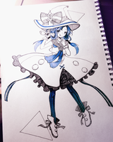 little sea witch! by Hoshi-Pan
