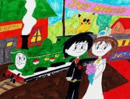 Just Married by Advanceshipping
